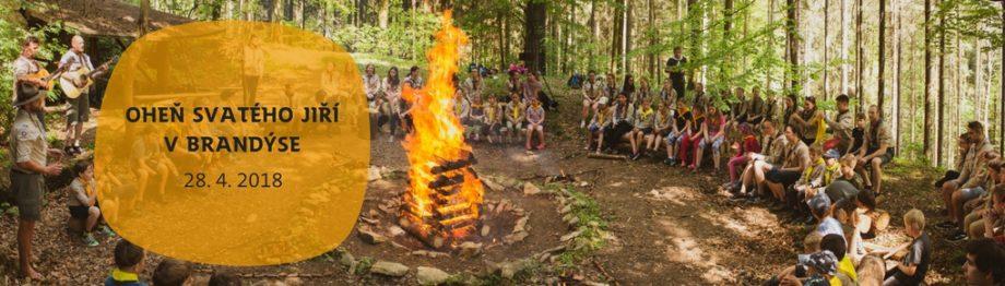 Oheň sv. Jiřího v Brandýse